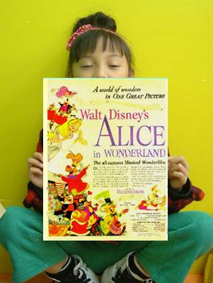 ●●●☆ その2★ポスター★不思議の国のアリス Alice in Wonderland  送料込み_画像2