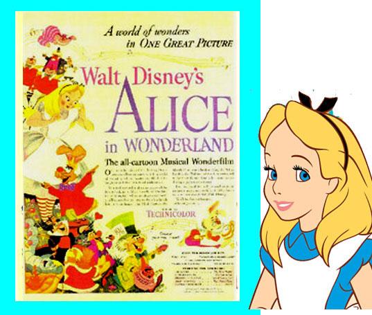 ●●●☆ その2★ポスター★不思議の国のアリス Alice in Wonderland  送料込み_画像1