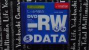 imation データ用 片面1層 DVD-RW 10mmケース 5枚組+オマケDVD-R