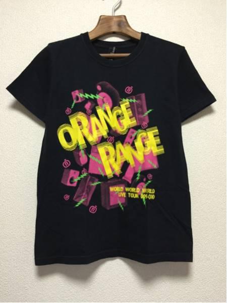 [即決古着]ORANGE RANGE/オレンジレンジ/LIVE TOUR 009-010/ライブツアーTシャツ/バンドT/半袖/黒/ブラック/S