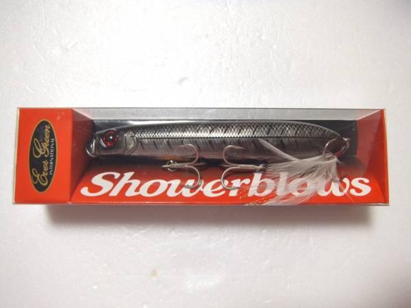 「エバーグリーン シャワーブローズ #619 ブラックボーン (ハードルアー 淡水 ペンシルベイト エバーグリーン)」の画像