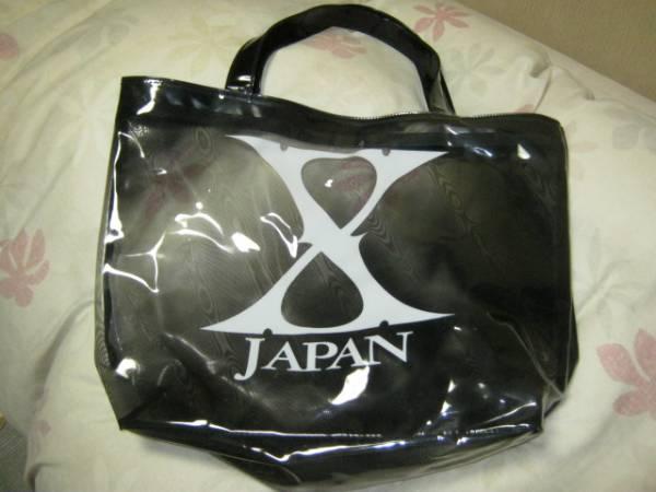 X JAPAN エックス /ビニール製トートバッグ YOSHIKI HIDE EXTASY