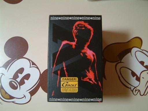 #nine*nine限定BOX#GACKT CD13枚+DVD1枚 ライブグッズの画像