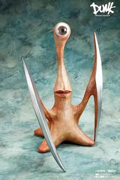寄生獣  ミギー 1/1スケール ソフビ製塗装済完成品 DUNK グッズの画像
