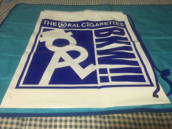 THE ORAL CIGARETTES 2016年ビニールバッグ 新品 非売品