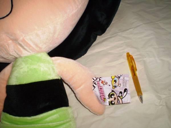 新品 特大 ぬいぐるみ パワーパフガールズ クッション レア 人形 バターカップ カートゥーンネットワーク Powerpuff girls 海外キャラ