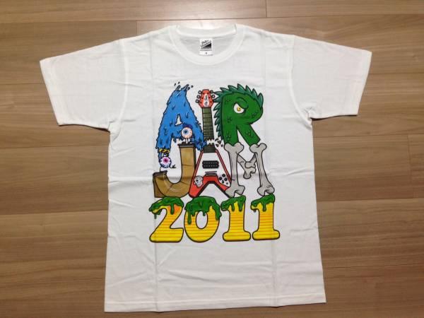 【未着用】 AIR JAM 2011 オフィシャル Tシャツ ハイスタ brahman ken yokoyama ライブグッズの画像