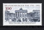 即決■ドイツ■1991年未使用NH■ブランデンブルク門#1492