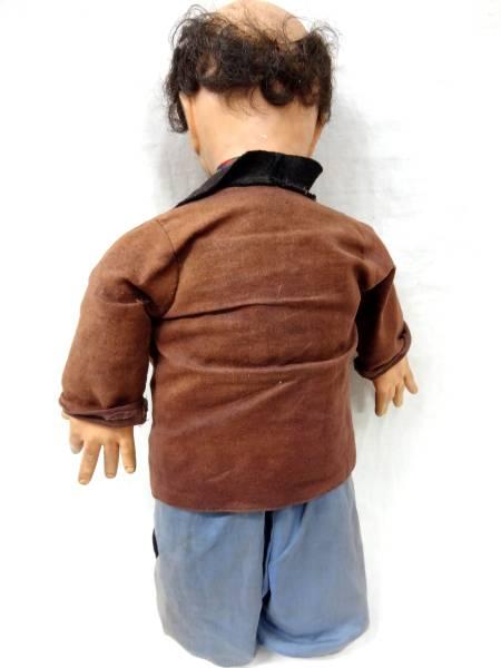 ビンテージ アンティーク 骨董 HOBO スタイル ピエロ ドール 人形 ニューヨーク トイ カンパニー 製 50S~60S インテリア ディスプレイ に_画像3