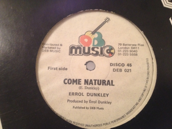 ★Errol Dunkley/Come Natural★メロウROOTS!_画像1