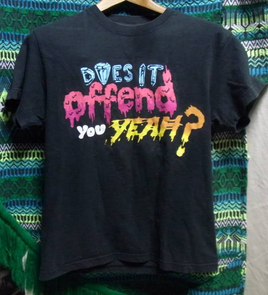 Does it offend you yeah? tシャツ daftpunk skrillex