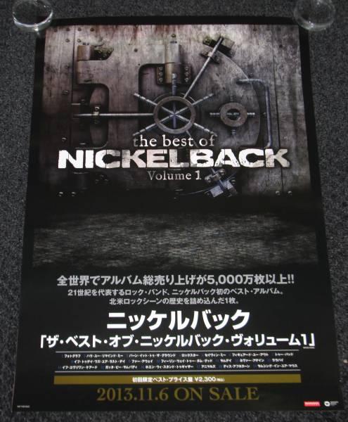 Γ① 告知ポスター ニッケルバック[Best of NICKELBACK-Vol. 1]