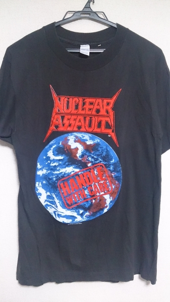 Nuclear Assault 1990年ツアー T シャツ/S.O.D. Anthrax Slayer
