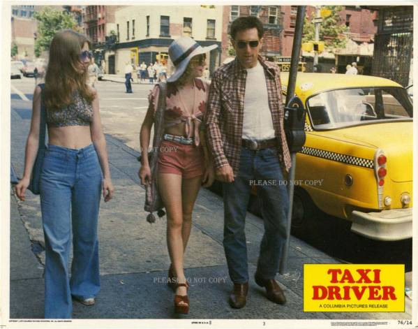 1976 Taxi Driver ロバート・デ・ニー ロ ロビーカード 2枚付き