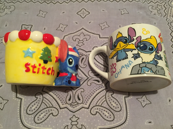 スティッチ マグカップ/小物入れ セット ディズニーグッズの画像
