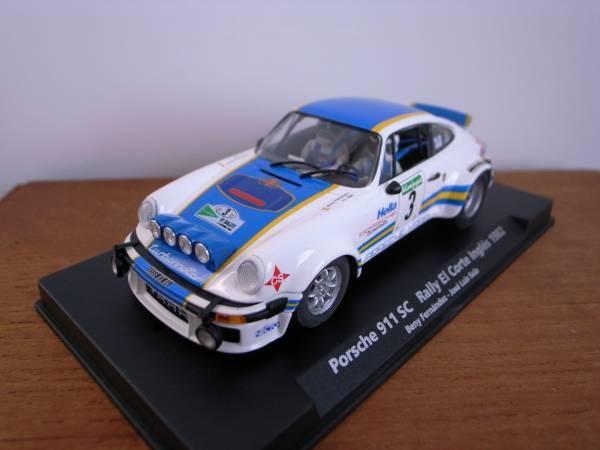 1/32 FLY PORSCHE 911 SC Rally El Corte Ingles 1982