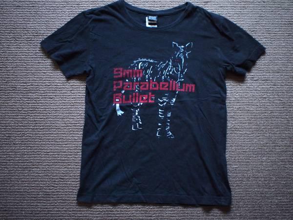 貴重 9mm Parabellum Bullet TシャツM キューミリ バンド ライブグッズの画像