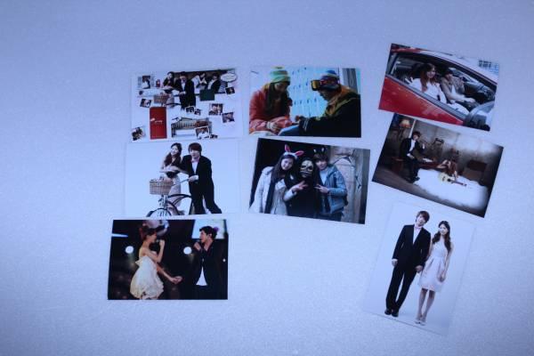 少女時代 ソヒョンとチョンヨンファ 宣伝生写真8枚セット