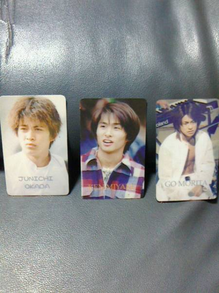 V6★カード★人気★岡田、森田、三宅★レア★激安★ジャニーズ