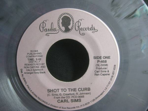 CARL SIMS / SHOT TO THE CURB ◆EP1659NO◆7インチ_画像2
