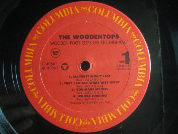 THE WOODENTOPS / WOODEN FOOT COPS ON THE HIGHWAY◆U852NO◆_画像3