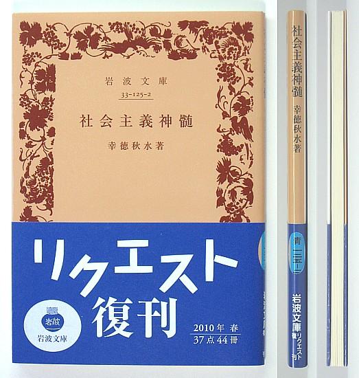 ◆岩波文庫◆『社会主義神髄』◆幸徳秋水◆新品同様◆_画像1