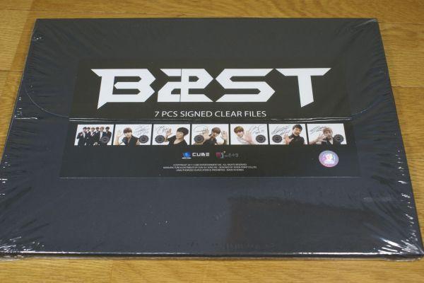BEAST(ビースト) クリアファイル Ver.2 7枚 セット 送料180円