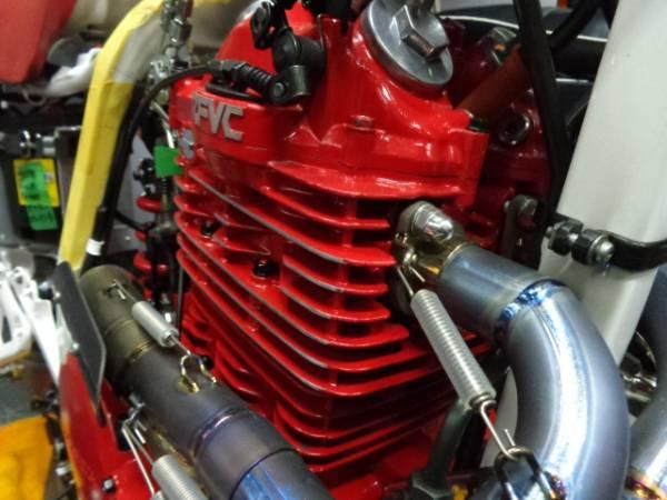 耐熱塗料 AREA トップヒート 赤 CBX GS FX Z1 Z2 J CBR GSX RG XJ XL モンキー ゴリラ JAZZ_画像3