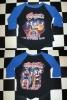 パキ綿 AEROSMITH エアロスミス 七分袖 ラグランスリーブ Tシャツ Mサイズ スティーヴン・タイラー ハードロック ヘヴィメタル バンド
