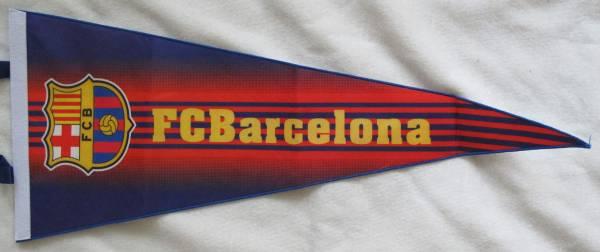 ★綺麗★ バルセロナ Barcelona 巨大 ペナント