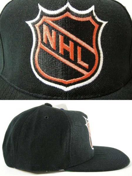 NHL リーグロゴ 90'S VINTAGE ヴィンテージ デッドストック スナップバック キャップ SNAPBACK CAP_画像2