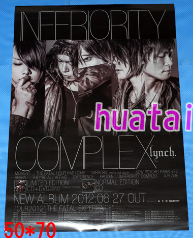 lynch リンチ INFERIORITY COMPLEX 告知ポスター
