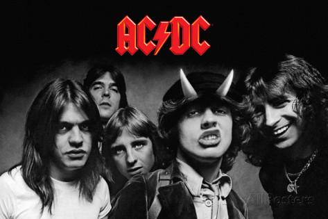 AC/DC Highway To Hell 超特大限定ポスター 希少 インテリア