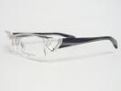 新品 マサキマツシマ メガネ MF-1115-6 シルバー/グレーシルバーストライプ フレーム/正規品/人気・希少モデル