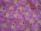 サンリオ ポムポムプリン キルティング生地/布/キルト:100×50cm:ピンク