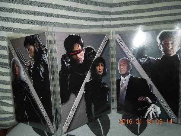 X-MEN2ポストカード 6枚セット ヒュー・ジャックマン マーベル グッズの画像