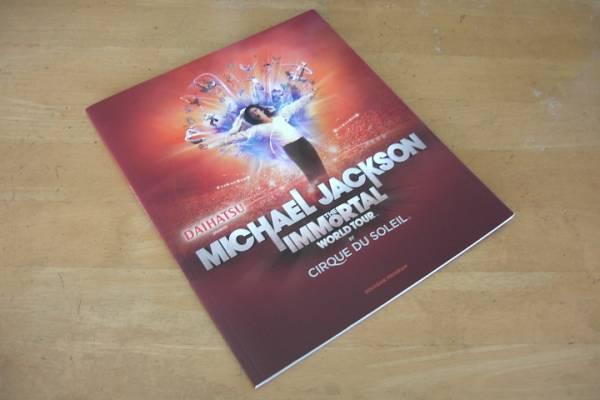 マイケル・ジャクソン MICHAEL JACKSON 【 THE IMMORTAL WORLD TOUR パンフ 】