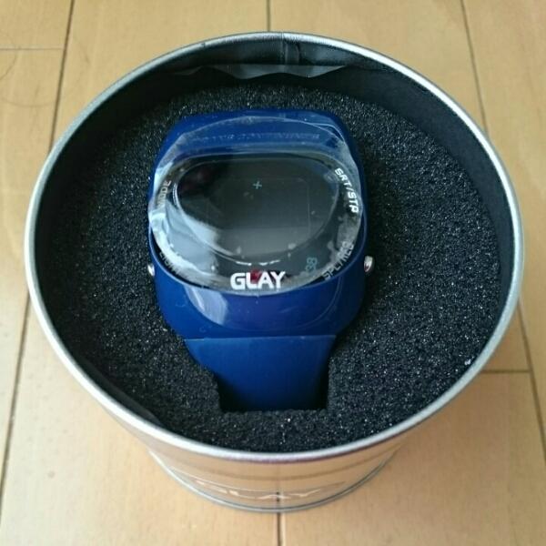 FC限定『GLAY × TRANS CONTINENTS』腕時計 TAKURO × TERU × HISASHI × JIRO