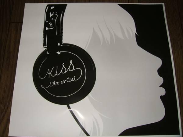 【販促ポスターHC】 L'Arc-en-Ciel ラルクアンシェル/KISS非売品