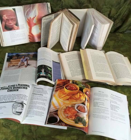洋書☆米軍基地施設放出品☆色々8冊ジャンク_一部、ページ破れ・湿気歪等ございます。