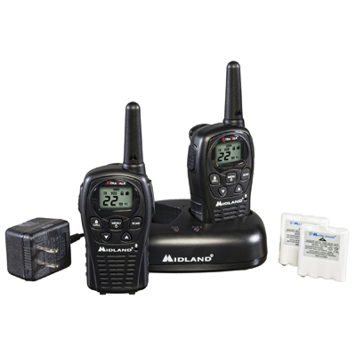 送料無料!★ミッドランド38キロ無線機★LXT500VP3充電器付★2セット〔4台〕★日本語取説付_これと同じセットが2セット(4台)です。