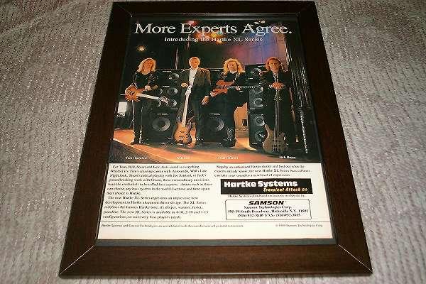 ジャック・ブルース他 ベースプレイヤー システム USA 広告