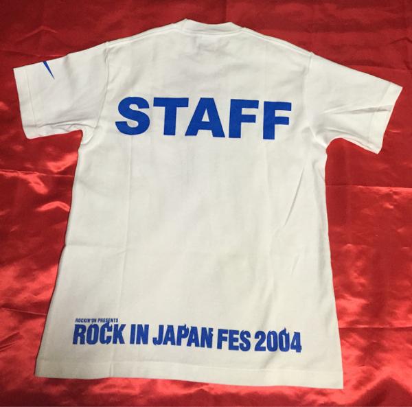 ナイキ ROCK IN JAPAN FES 2004 スタッフ シャツ DRI-FIT M
