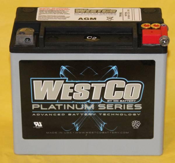 WESTCO WCP20L ユアサYTX20HL-BS サイズが同じ AGMタイプ_画像1