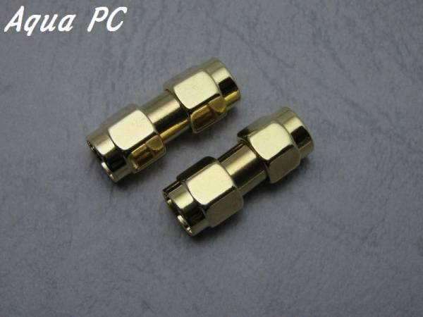 AquaPC★RP-SMA Male to RP-SMA Male RF Adapter 変換★502