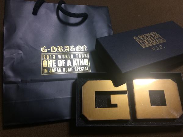BIGBANG G-DRAGON VIP特典 ナックル 新品