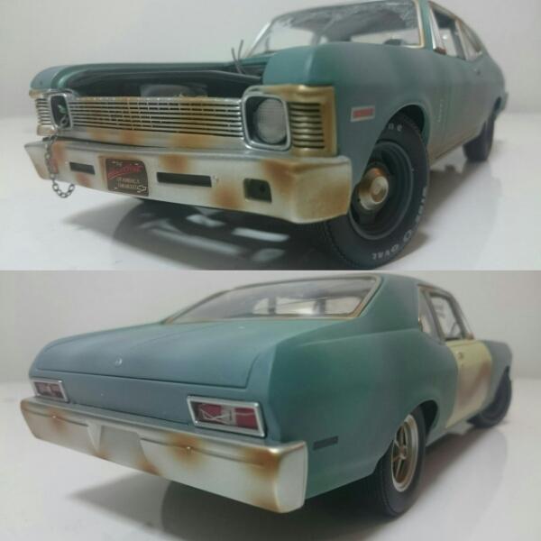 GMP/Chevyシボレー Novaノバ トレーラー付 1/18 限定1000台_画像1