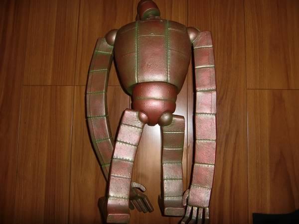 ルパン三世 ラピュタ 装甲 ロボット兵 ラムダドール 正規品 ヤフオク_素材の都合上、接地にやや難アリです。