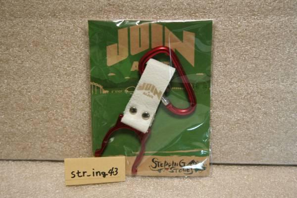 新品 JOIN ALIVE 2013 ペットボトルホルダー 赤×白 グッズ STEPPING STONES