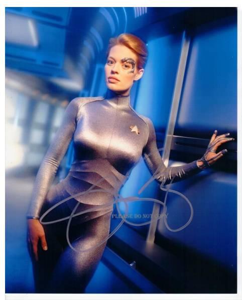 Star Trek: Voyager ジェリー・ライアンサイン フォト